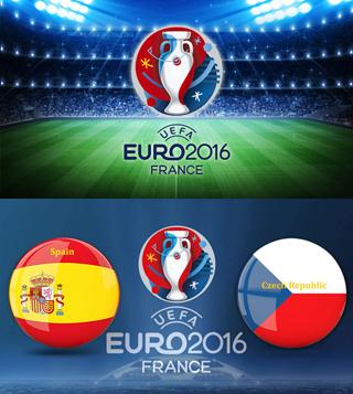 Uefa Euro 2016 Group D Spain Vs Czech Republic